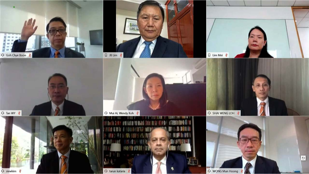 Mapletree Logistics Trust virtual agm on Motion Media Works live webcast platform