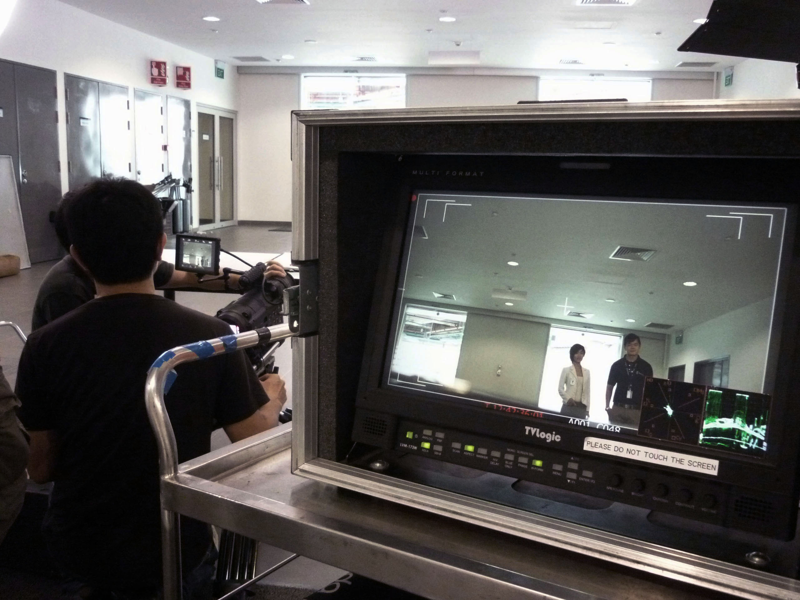 corporate HSE safety film production support Singapore