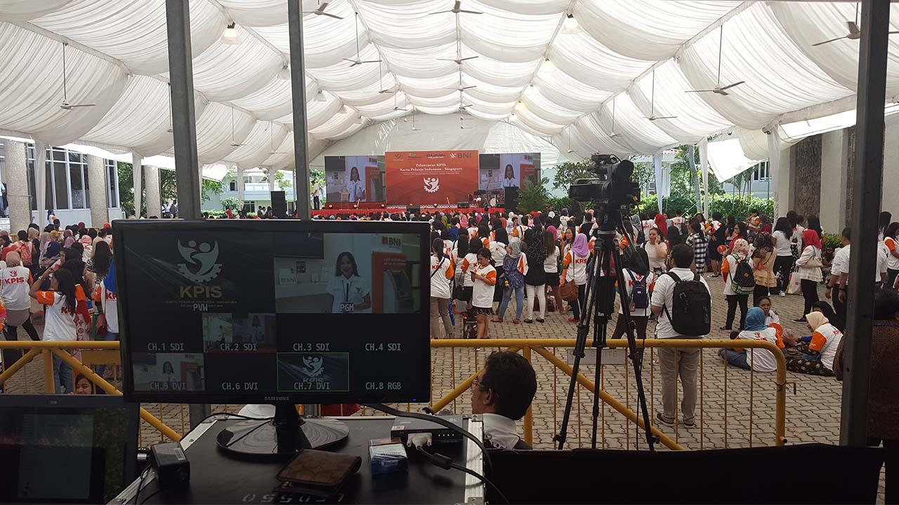 Outside live broadcast transmission service
