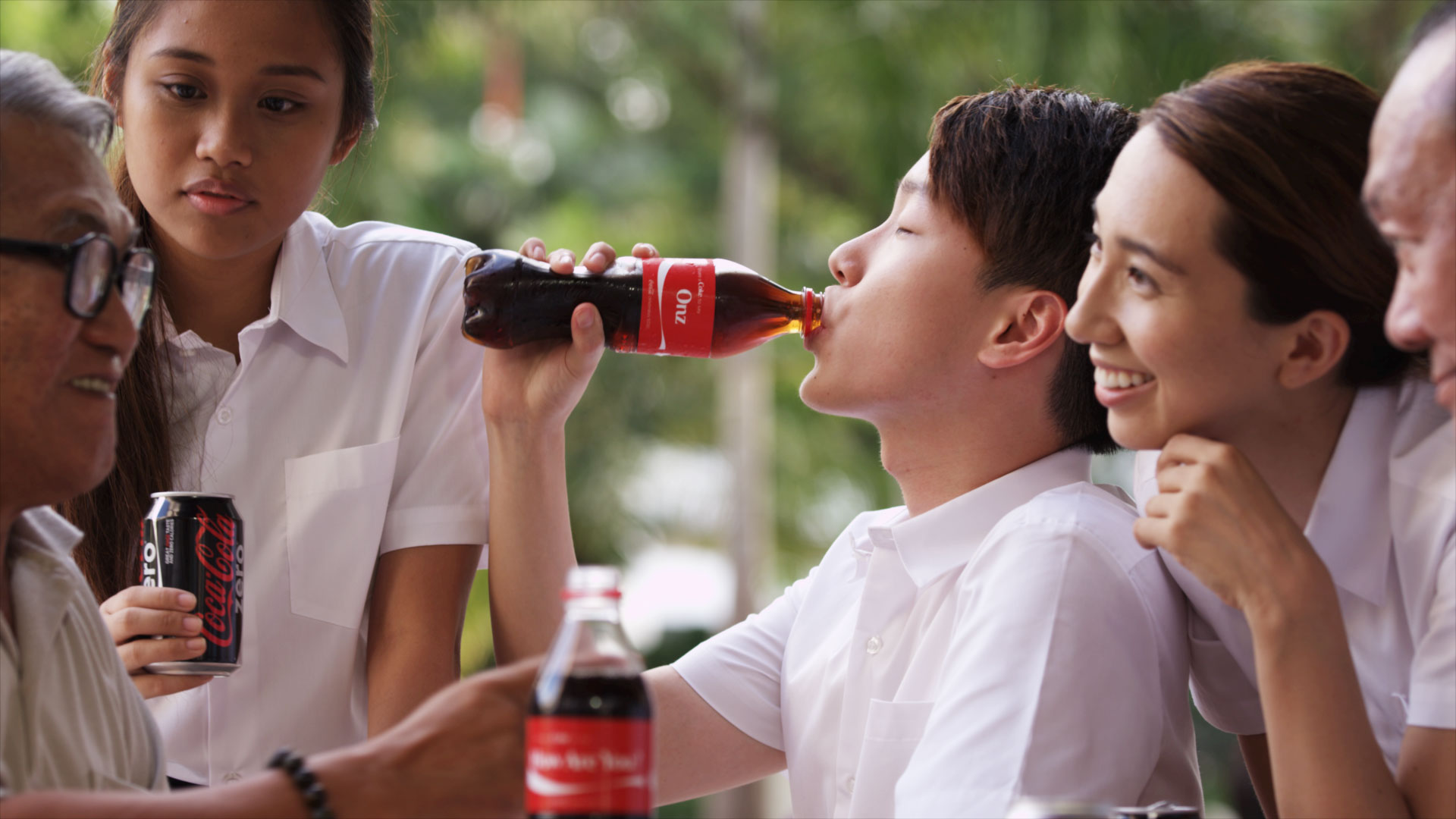 share a coke social media video