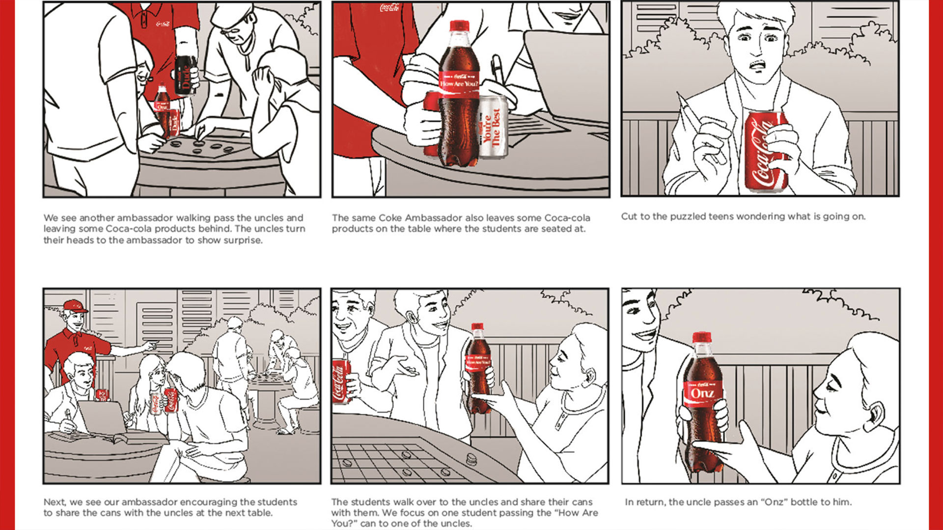 What does a storyboard look like