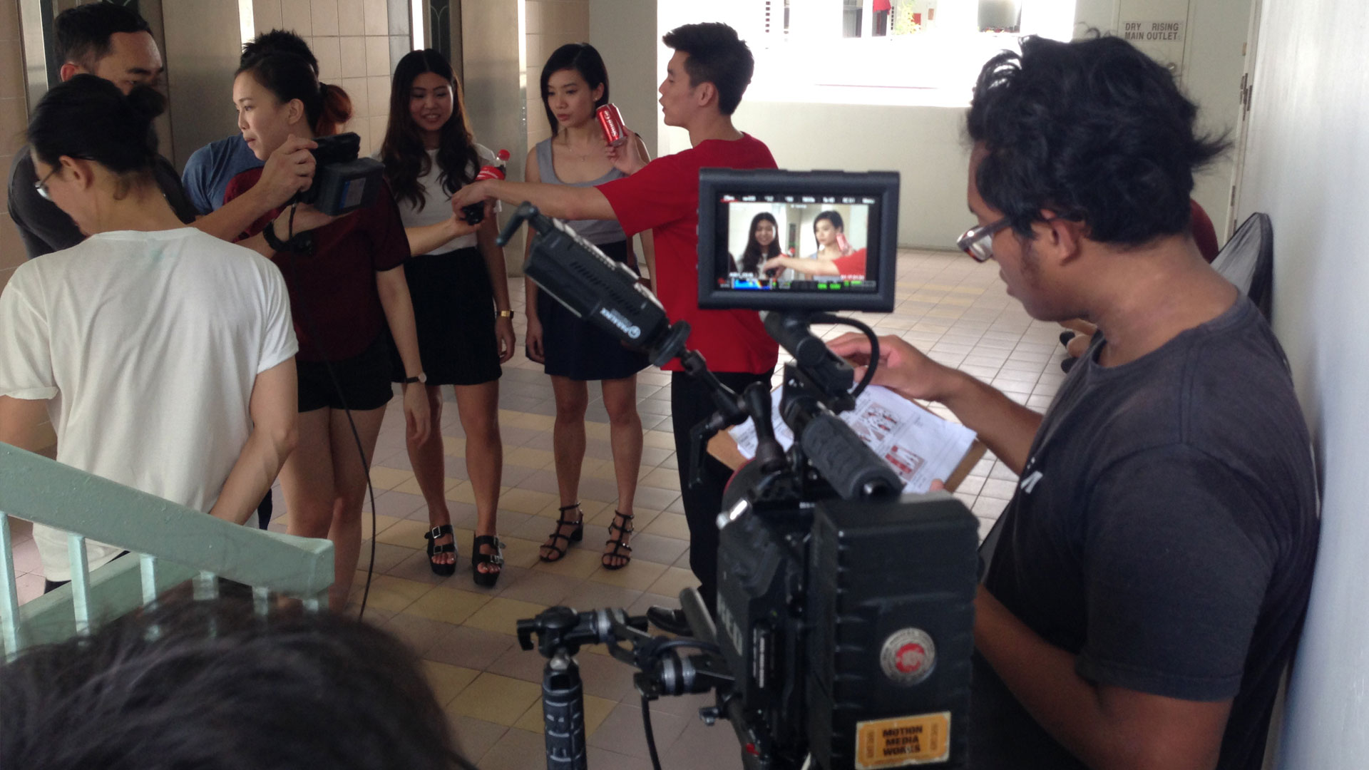 Video Production support Singapore